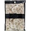 Kitsch, Satin Sleep Set, Leopard, 3 Piece Set