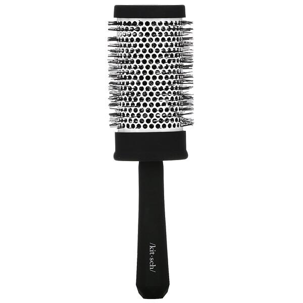 Volume, Ceramic Round Blow Dry Brush, Black, 1 Brush
