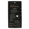 Kitsch, многоразовые маски для лица из 100% хлопка, нейтральный оттенок, 3шт. в упаковке