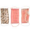 Kitsch, コットン100%の繰り返し使用できる顔用マスク、薄いピンク色、3枚パック