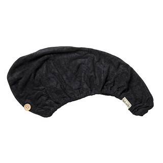 Kitsch, Super-Absorbent Eco-Friendly Hair Towel, Black, 1 Piece