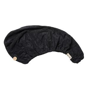 Kitsch, Super-Absorbent Eco-Friendly Hair Towel, Black, 1 Piece'