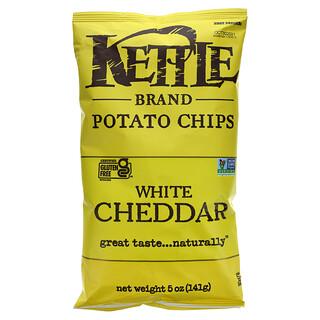 Kettle Foods, 土豆片,紐約切達乾酪,5盎司(142克)