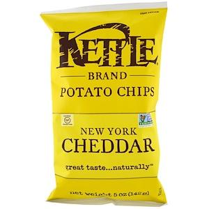Кэттл фудс, Potato Chips, New York Cheddar, 5 oz (142 g) отзывы