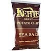 Kettle Foods, Potato Chips, Sea Salt, 5 oz (142 g)