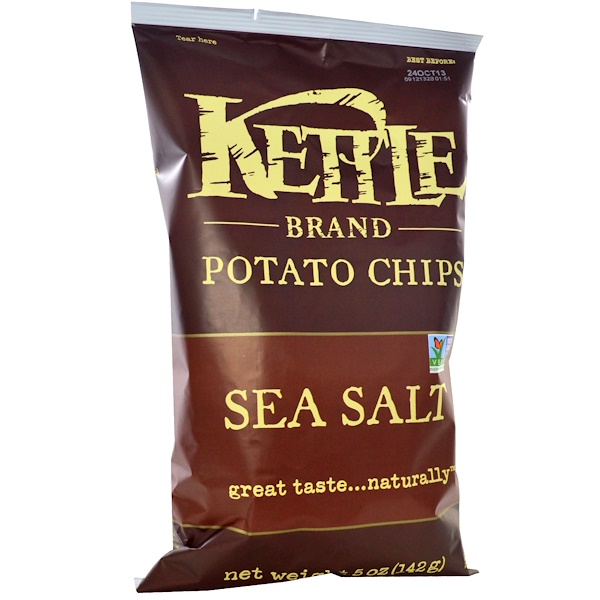 Potato Chips, Sea Salt, 5 oz (142 g)