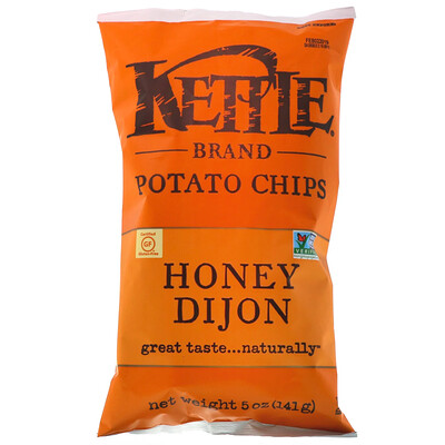 Купить Картофельные чипсы, мед и дижонская горчица, 5 унц. (141 г)