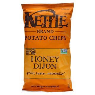 Kettle Foods, 薯片,蜂蜜第戎,5 盎司(141 克)