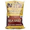 Kettle Foods, Krinkle Cut Potato Chips, Sea Salt, 13 oz (369 g) (Discontinued Item)