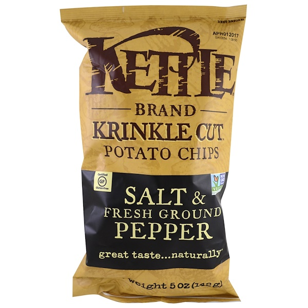 Potato Chips, Salt & Fresh Ground Pepper, 5 oz (142 g)
