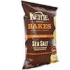 Kettle Foods, Baked Potato Chips, Sea Salt, 4 oz (113 g) (Discontinued Item)