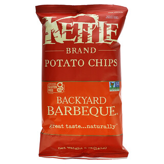 Kettle Foods, 薯片,後院燒烤風味,5 盎司(141 克)