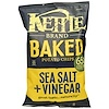 Kettle Foods, Baked Potato Chips, Sea Salt & Vinegar, 4 oz (113 g) (Discontinued Item)