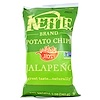 Kettle Foods, Papas chips, Jalapeño caliente!, 5 oz (142 g)