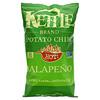 Kettle Foods, צ'יפס תפוחי אדמה, חם! חלפיניו, 142 גרם