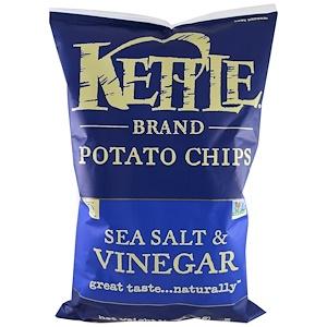 Кэттл фудс, Potato Chips, Sea Salt & Vinegar, 13 oz (369 g) отзывы