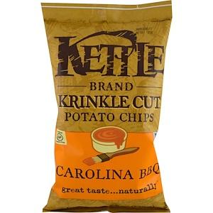 Кэттл фудс, Krinkle Cut Potato Chips, Carolina BBQ, 5 oz (142 g) отзывы покупателей