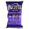 Kettle Foods, Chips de Pommes de Terre, Barbecue Coréen, 142 g (5 oz)