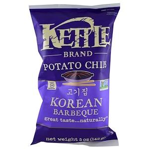 Кэттл фудс, Potato Chips, Korean Barbeque, 5 oz (142 g) отзывы покупателей