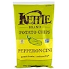 Kettle Foods, Potato Chips, Pepperoncini, 5 oz (142 g)