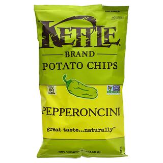 Kettle Foods, Potato Chips, Pepperoncini, 5 oz (142 g)