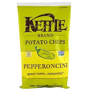 Кэттл фудс, Potato Chips, Pepperoncini, 5 oz (142 g) отзывы покупателей