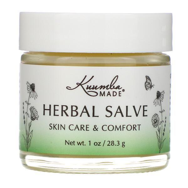 Kuumba Made, Herbal Healing Salve, 1 oz (28.3 g) (Discontinued Item)
