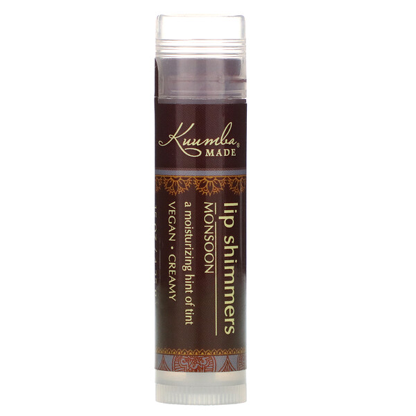 Kuumba Made, Lip Shimmers, Monsoon, 0.15 oz (4.25 g)