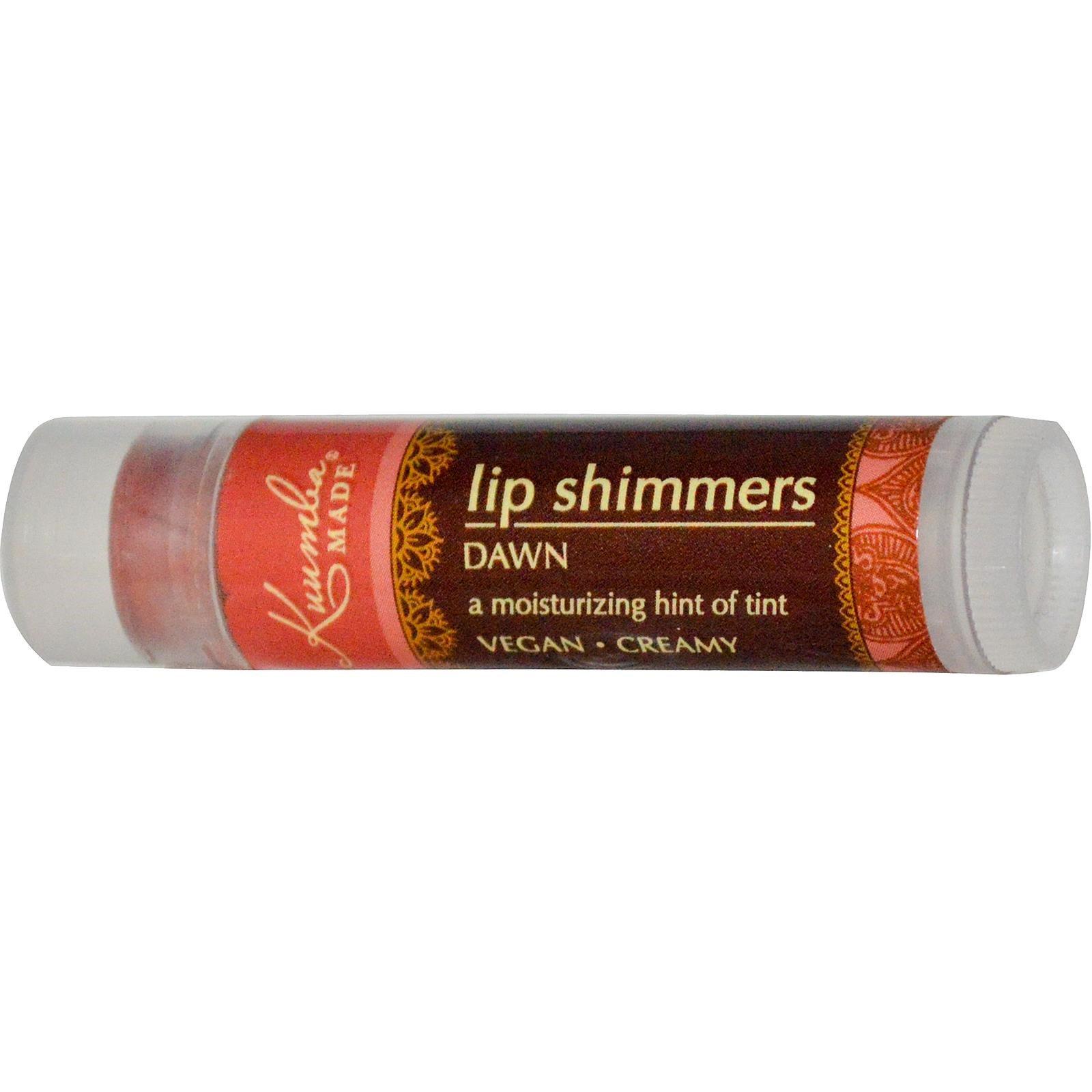Kuumba Made, Шиммер для губ, оттенок Dawn, 0.15 унций (4.25 г)