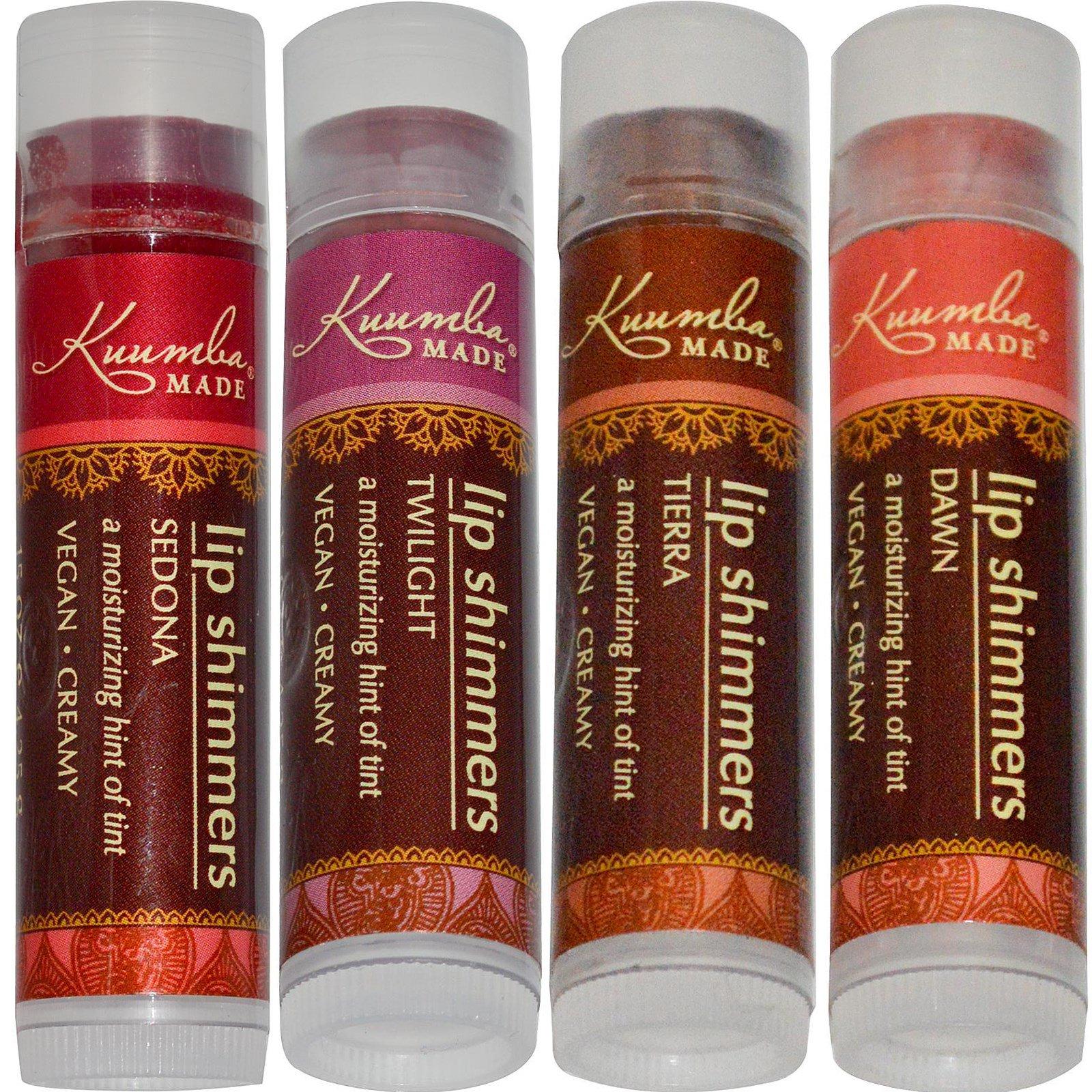 Kuumba Made, Блеск для губ, 4 шт, 4,25 г (0,15 унции) каждая