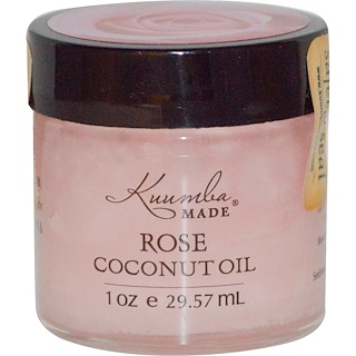 Kuumba Made, Aceite de Coco y Rosa, 1 oz (29.57 ml)
