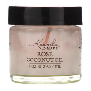 Куумба маде, Rose Coconut Oil, 1 oz (29.57 ml) отзывы