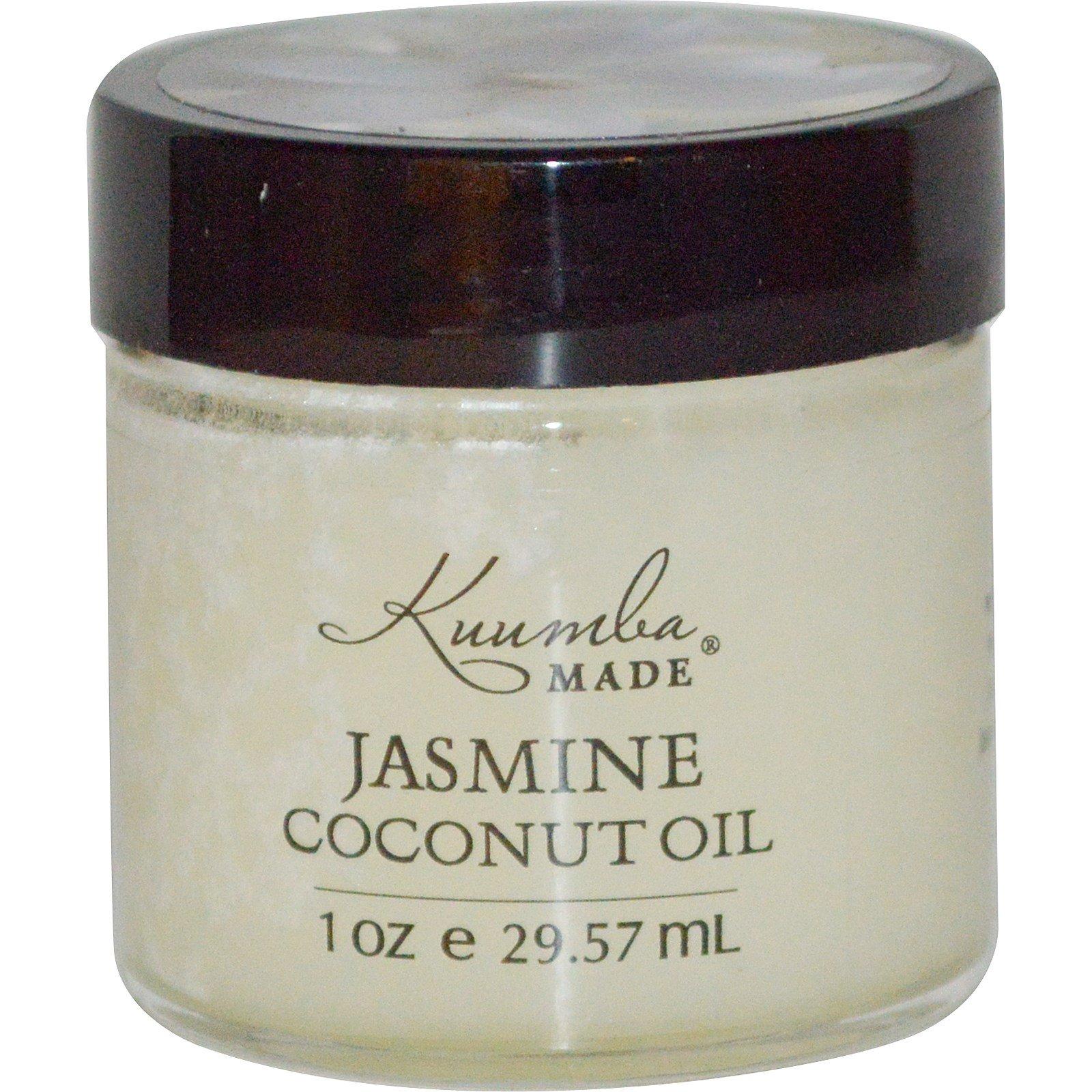 Kuumba Made, Масло кокоса с жасмином, 1 унция (29,57 мл)