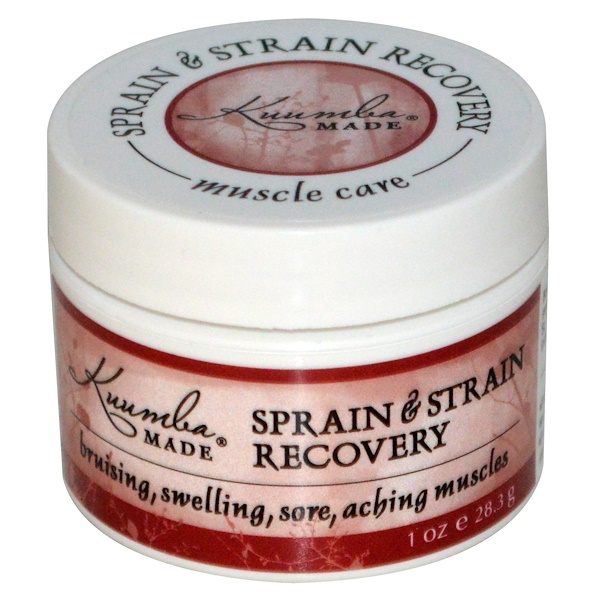 Kuumba Made, Sprain & Strain Recovery, 1 oz (28.3 g) (Discontinued Item)