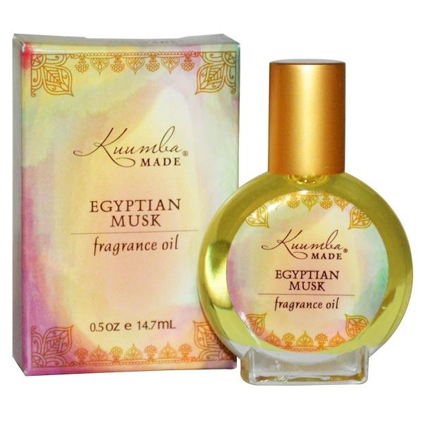 Kuumba Made, Fragrance Oil, Egyptian Musk, 0.5 oz (14.7 ml) (Discontinued Item)