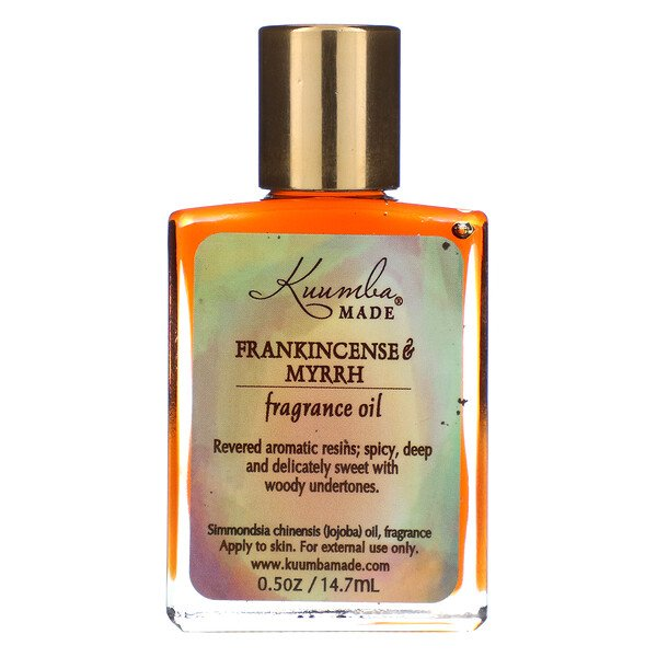 Fragrance Oil, Frankincense & Myrrh, 0.5 oz (14.7 ml)