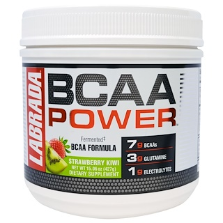 Labrada Nutrition, BCAA Power, Strawberry Kiwi, 15.06 oz (427 g)