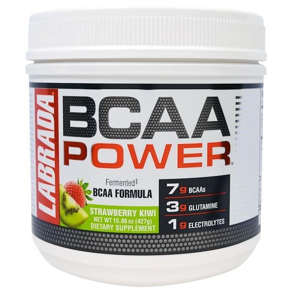 Labrada Nutrition, BCAA Power, Strawberry Kiwi, 15.06 oz (427 g) (Discontinued Item)