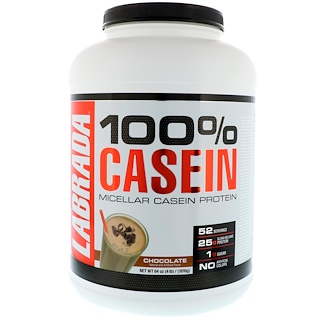 Labrada Nutrition, 100% Casein, Chocolate, 4 lbs (1816 g)