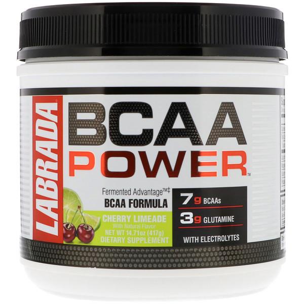 Labrada Nutrition, BCAA Power, Cherry Limeade, 14.71 oz (417 g) (Discontinued Item)
