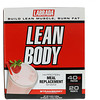 Labrada Nutrition, Lean Body، مخفوق عالي البروتين بديل عن وجبة الطعام، فراولة، 20 عبوة، 2.78 أونصة (79 غرام) لكل عبوة