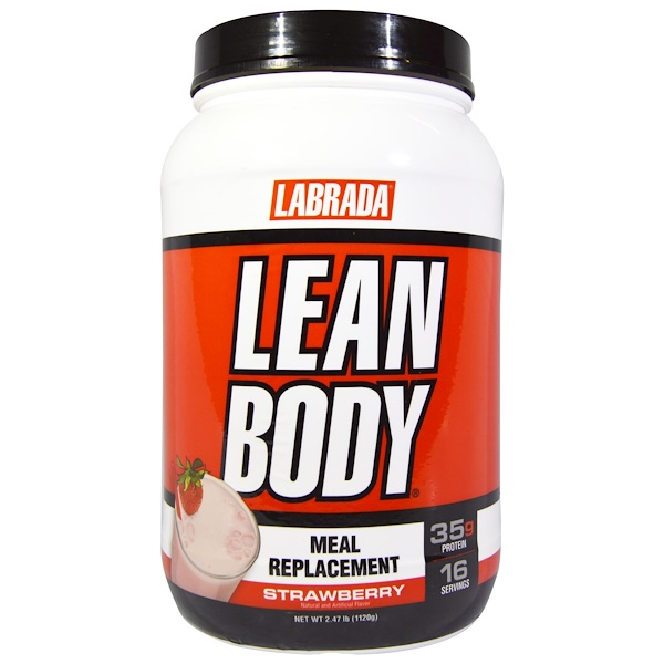 Lean Body, Meal Replacement, Strawberry, 2.47 lb (1120 g)