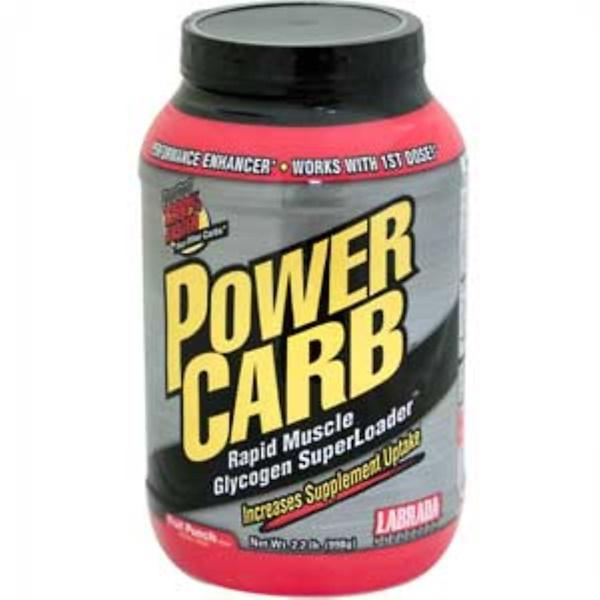 Labrada Nutrition, Power Carb, Sugar-Free, Fruit Punch, 2.2 lb (998 g) (Discontinued Item)