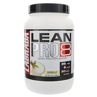 Labrada Nutrition, Lean Pro8, Vanilla, 2.2 lbs (1000 g)