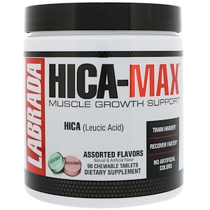 Лабрада нутришн, HICA-Max, Muscle Growth Support, Assorted Flavors, 90 Chewable Tablets отзывы