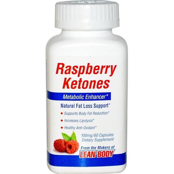 Labrada Nutrition, Raspberry Ketones, Metabolic Enhancer, 100 mg, 60 Capsules (Discontinued Item)