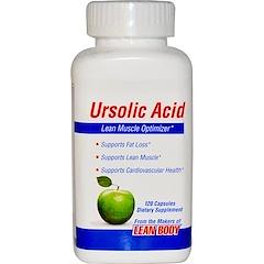 Labrada Nutrition, ウルソール酸、リーンマッスル・オプティマイザー、120カプセル