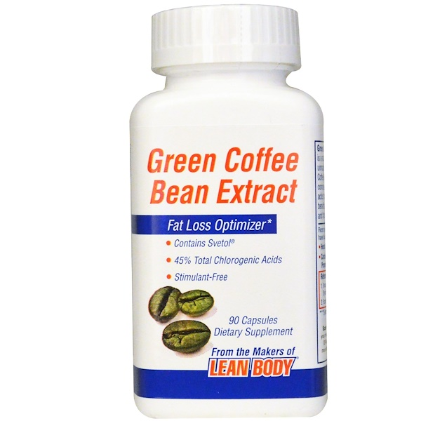 Labrada Nutrition Green Coffee Bean Extract 90 Capsules Iherb