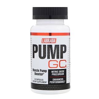 Labrada Nutrition, Pump GC, 63 Capsules