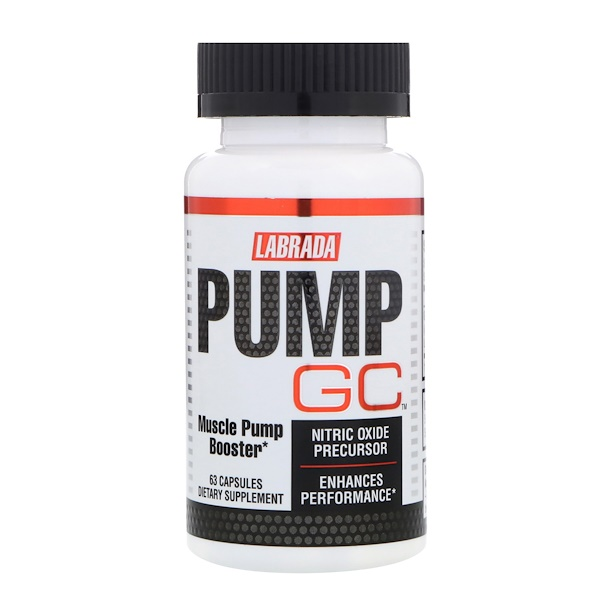 Labrada Nutrition, Pump GC, 63 Capsules